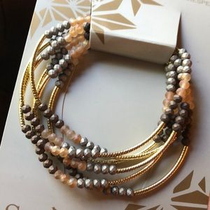 Beaded Wrap Bracelet/ Necklace